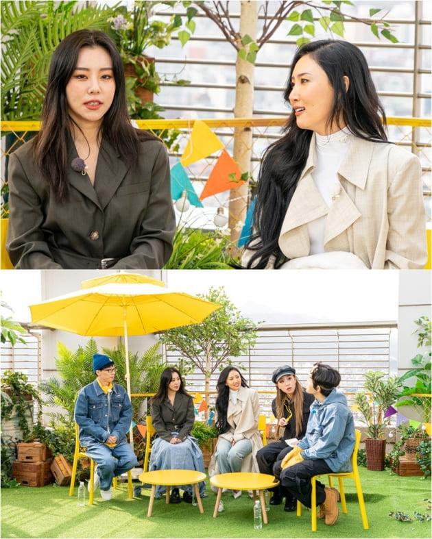 '컴백홈' 마마무 휘인(왼쪽), 화사/ 사진=KBS2 제공