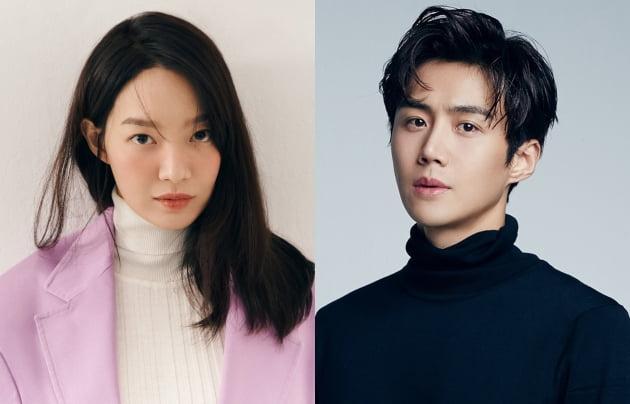 배우 신민아(왼쪽)와 김선호. /사진제공=에이엠엔터테인먼트, 솔트엔터테인먼트