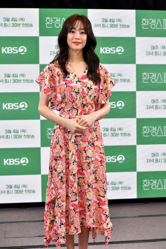 '환경스페셜' 김효진./사진제공=KBS