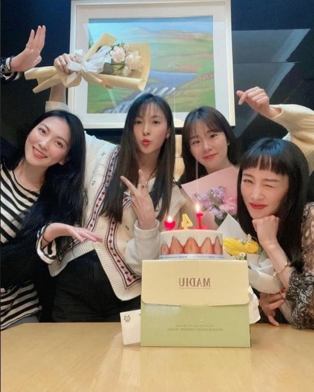 사진=박규리 인스타그램