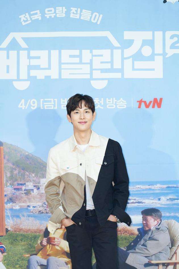 배우 임시완이 9일 오후 온라인 생중계된 tvN 새 예능프로그램 '바퀴 달린 집2' 제작발표회에 참석했다. /사진제공=tvN