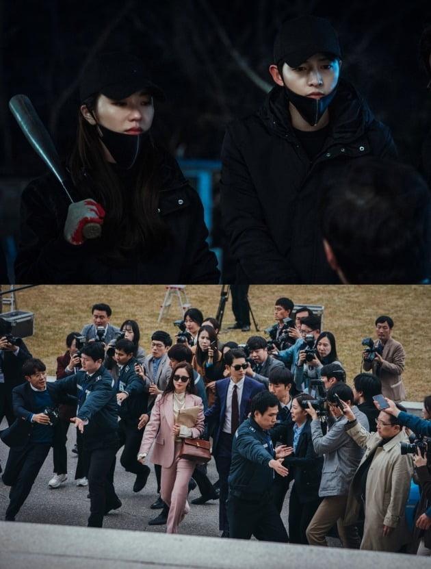 '빈센조' 속 송중기/ 사진=tvN 제공