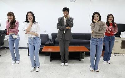 임영웅, 브레이브걸스 만났다…'롤린' 재현
