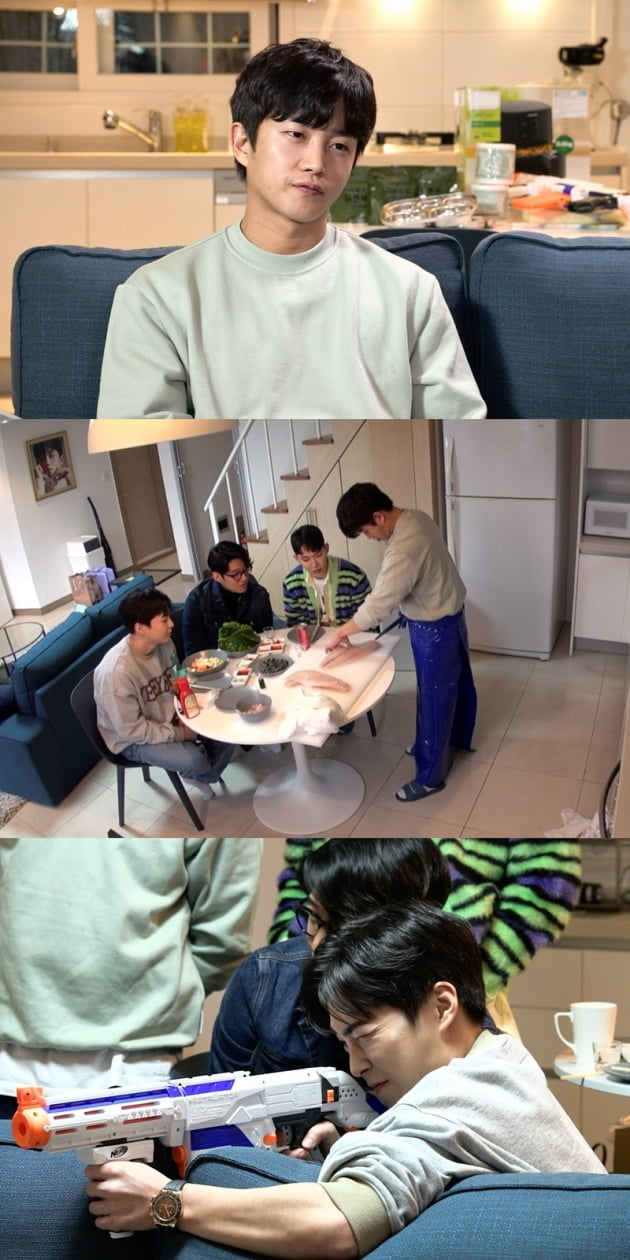 '독립만세' 김민석 집들이 /사진=JTBC 제공