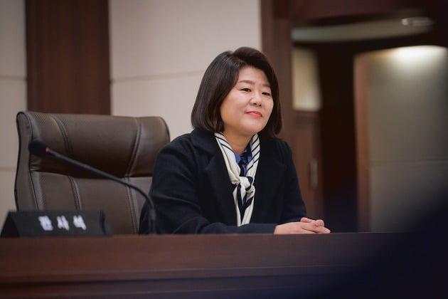 드라마 '로스쿨'의 이정은 / 사진제공=넷플릭스