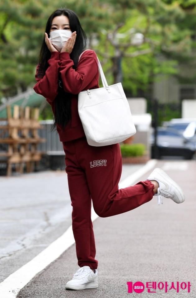 [TEN 포토] 마마무 휘인 '상큼발랄한 출근길'