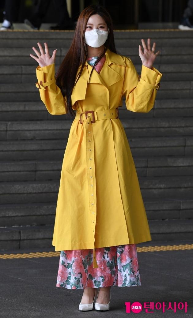 [TEN 포토] 배아현 '행복한 미소'