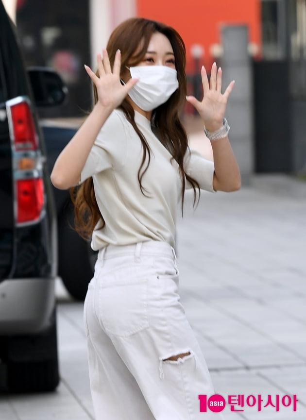 [TEN 포토] 홍지윤 '방가 방가'
