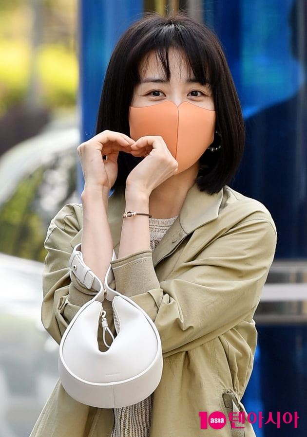 [TEN 포토] 박하선 '스위트한 하트~'
