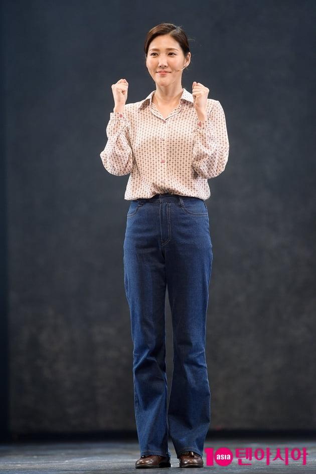 [TEN 포토] 장은아, '두 주먹 불끈'