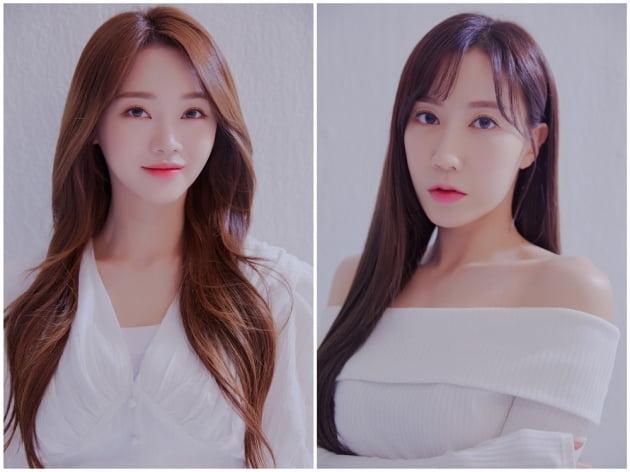 홍지윤(왼쪽), 별사랑 / 사진제공=린브랜딩