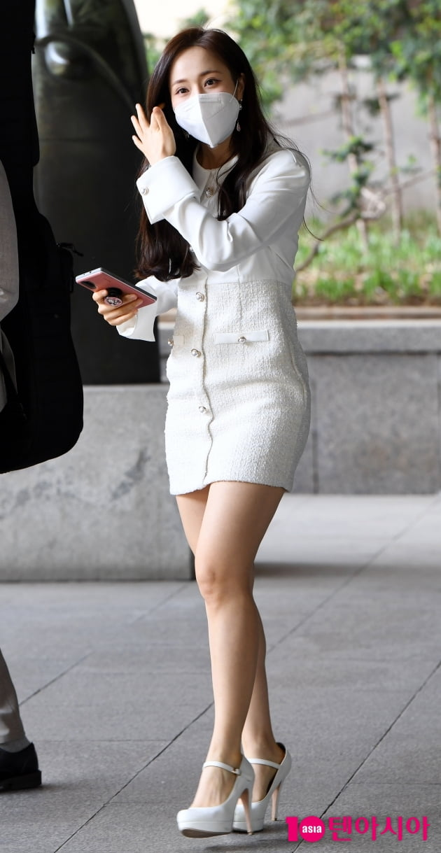 [TEN 포토] 소유미 '우아한 화이트'