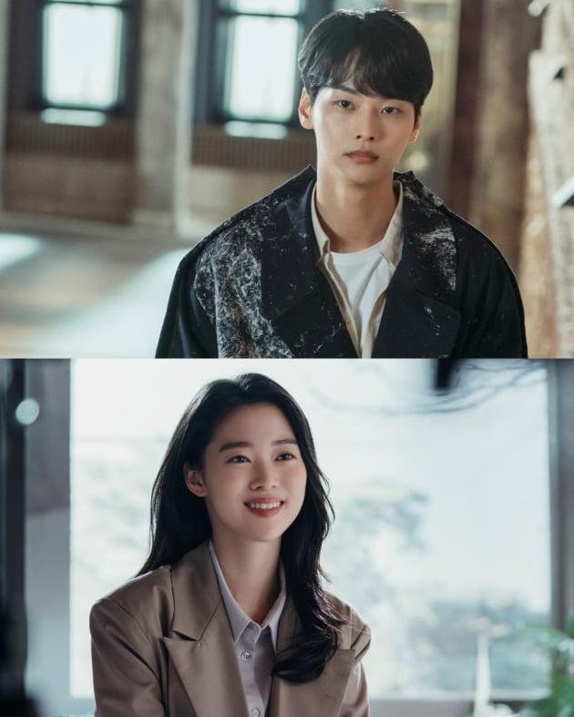 '마인'의 차학연(위), 정이서 / 사진제공=tvN