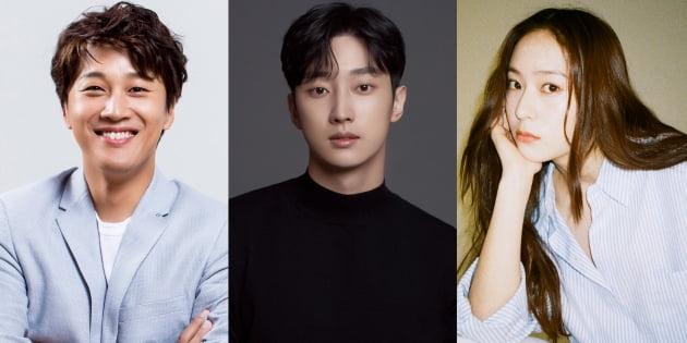 '경찰수업' 차태현, 진영, 정수정/ 사진제공=블러썸엔터테인먼트, 비비엔터테인먼트, 에이치앤드엔터테인먼트