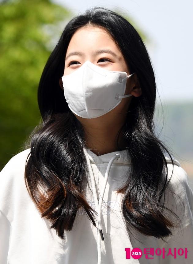 [TEN 포토] 오유진 '순수한 표정'