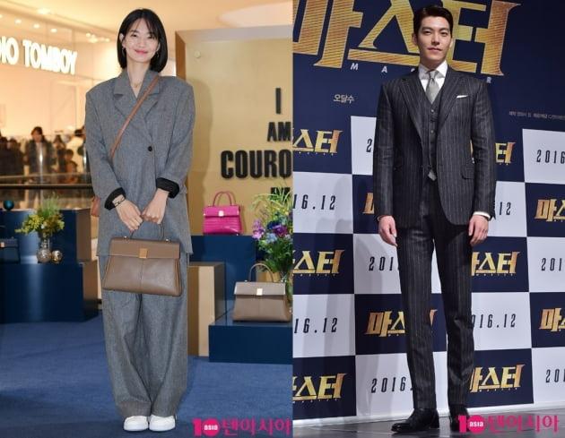 배우 신민아(왼쪽), 김우빈. /텐아시아DB