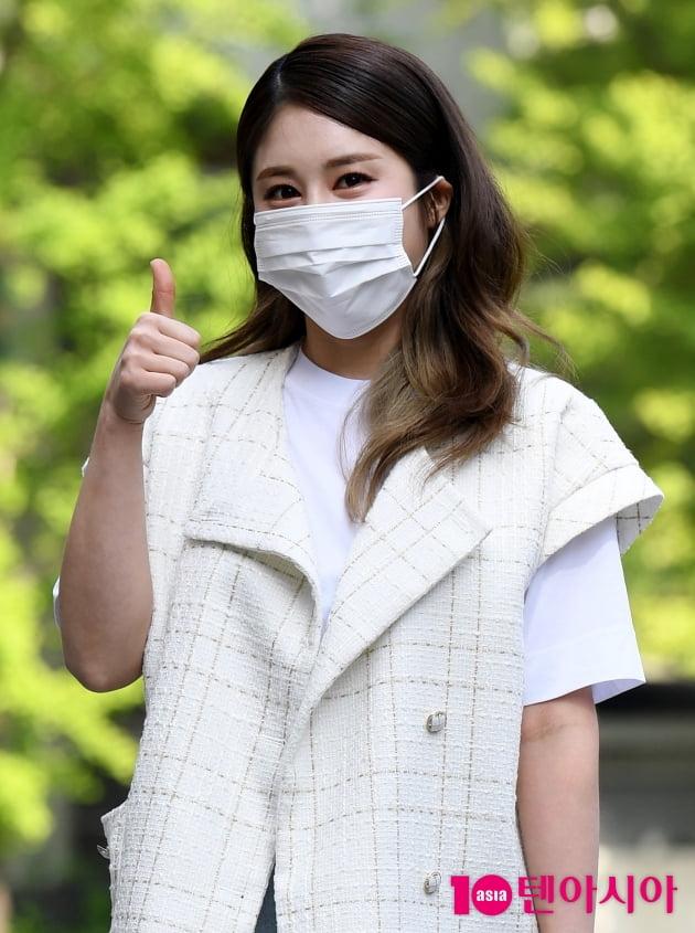 [TEN 포토] 김소유 '엄지척'