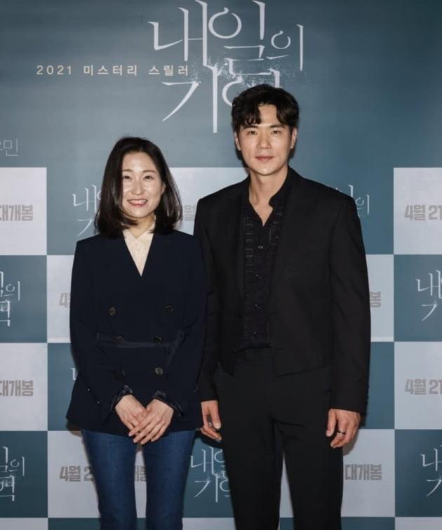 '내일의 기억' 배우 김강우(오른쪽)/ 사진=인스타그램