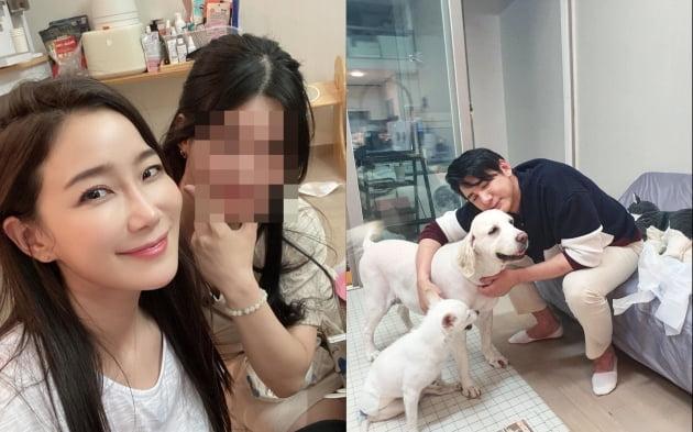 배우 김하영(왼쪽)과 박재현(오른쪽)의 아내/ 사진=인스타그램
