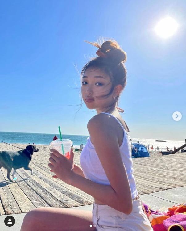 변정수 둘째 딸 유정원 /사진 = 변정수 인스타그램