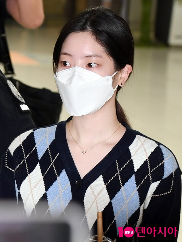 [TEN 포토] 트와이스 다현 '수수한 화장에도 빛나는 미모 '