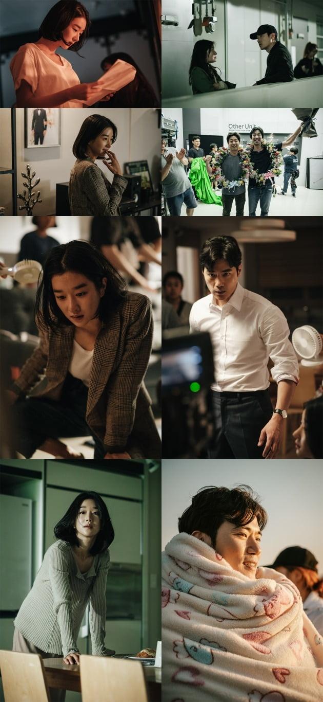 영화 '내일의 기억' 메이킹 스틸 / 사진제공=아이필름 코퍼레이션