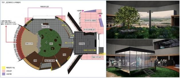 영화 '서복'에서 '서복의 집' 설계 도안 / 사진제공=CJ ENM