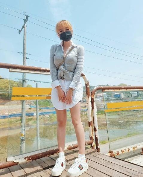 사진=강은비 인스타그램
