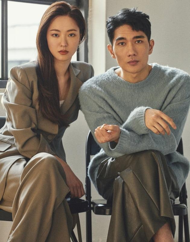 영화 '낙원의 밤'에 출연한 배우 전여빈(왼쪽), 엄태구 / 사진제공=넷플릭스