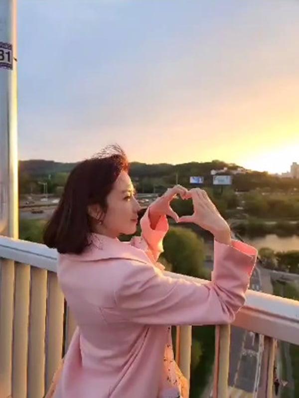 배우 홍은희 / 사진 = 홍은희 인스타그램