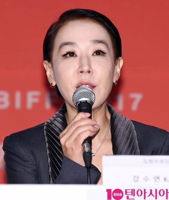배우 강수연./ 사진제공=텐아시아DB