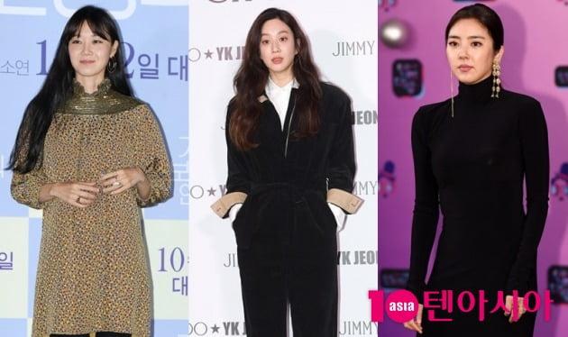 배우 공효진, 려원, 손담비./사진=텐아시아DB