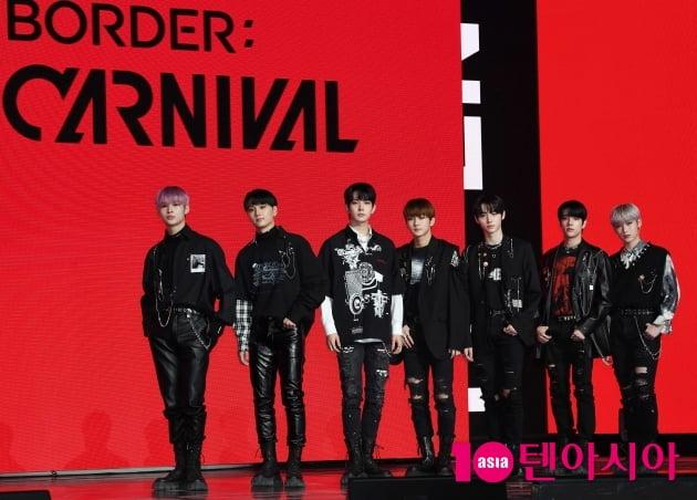 [TEN 포토] 엔하이픈 '두 번째 미니 앨범 'BORDER : CARNIVAL' 으로 컴백'