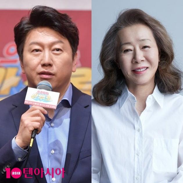 배우 김수로-윤여정 /사진 = 텐아시아 사진DB-후크엔터