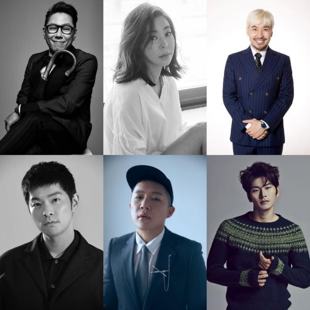 '그림도둑들' 윤종신, 이혜영, 노홍철, 장기하, 조세호, 이이경 /사진=JTBC 제공