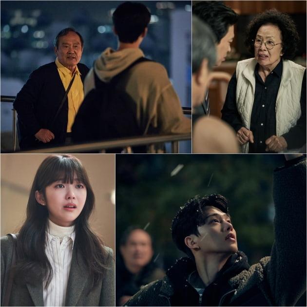 '나빌레라' 박인환·나문희·송강·홍승희 /사진=tvN 제공