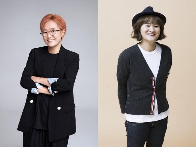 송은이·김신영, '2021 브랜드 고객충성도 대상' 수상 /사진=컨텐츠랩비보 제공