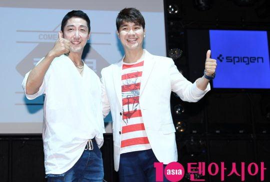 개그맨 손헌수(왼쪽), 박수홍. /텐아시아DB