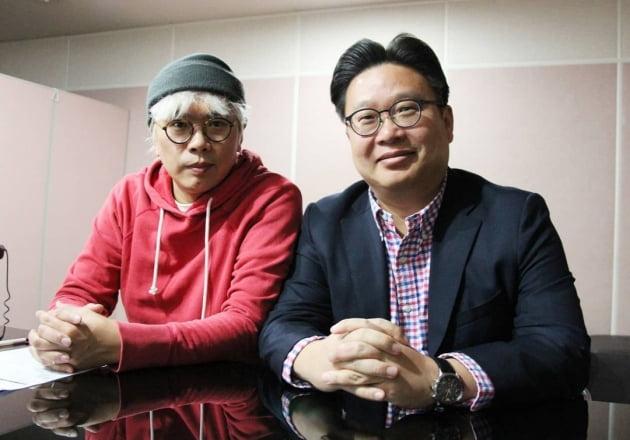 김태호 PD(왼쪽)와 서경덕 성신여대 교수/ 사진=인스타그램