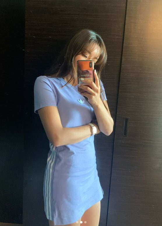 '이완♥' 이보미, 시누이 김태희 뺨치는 미모+몸매 [TEN★]