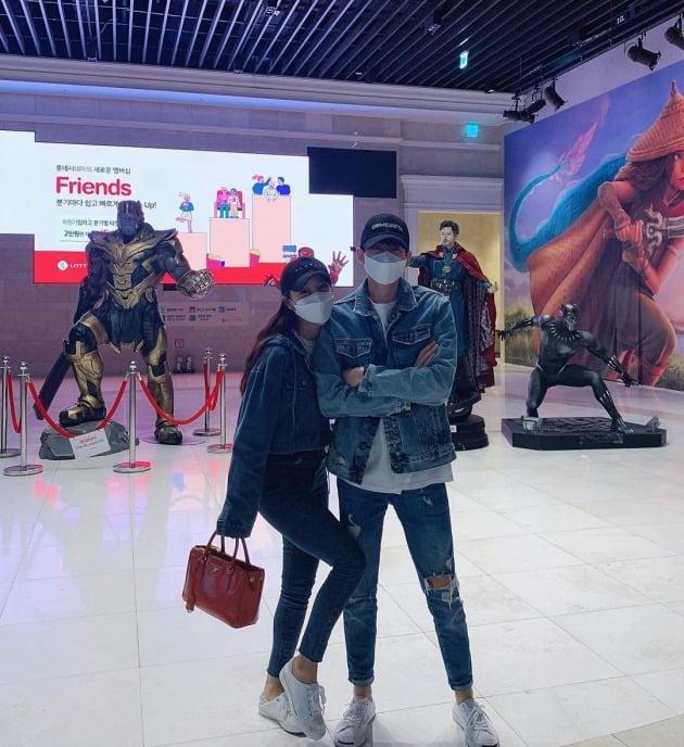 미나-류필립 부부 / 사진제공=미나 인스타그램