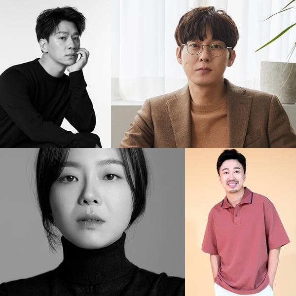 정상훈-박병은-이상희, 조달환./ 사진=각 소속사