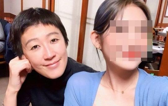 홍진경(왼쪽)과 최준희 양/ 사진=인스타그램