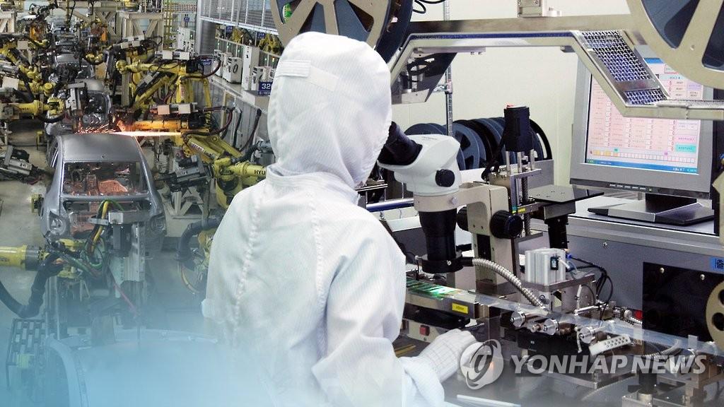 """[2보] 3월 생산 0.8%↑, 소비 2.3%↑…""""경기회복세 확대"""""""
