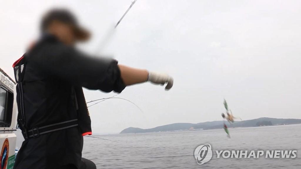 낚시 인터넷방송 촬영 중 '대어 명당' 놓고 시비 끝 폭행