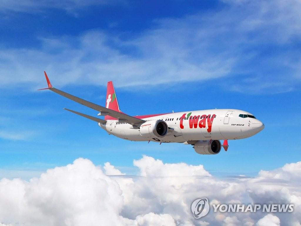 티웨이항공, 다음달 인천·김포·대구공항서 관광비행 운항