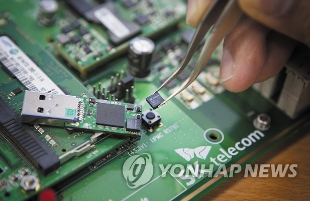 B2B 양자암호통신기술 나온다…SKT, 기업용 IP장비에 적용
