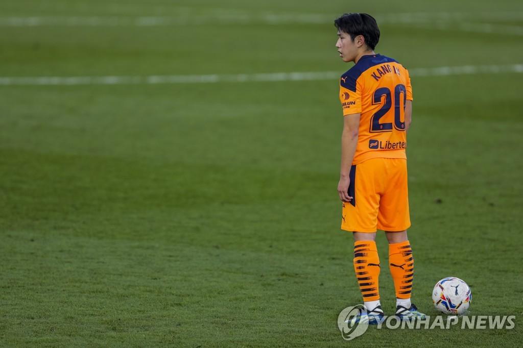 이강인 3경기 연속 결장…발렌시아, 베티스와 2-2 무승부