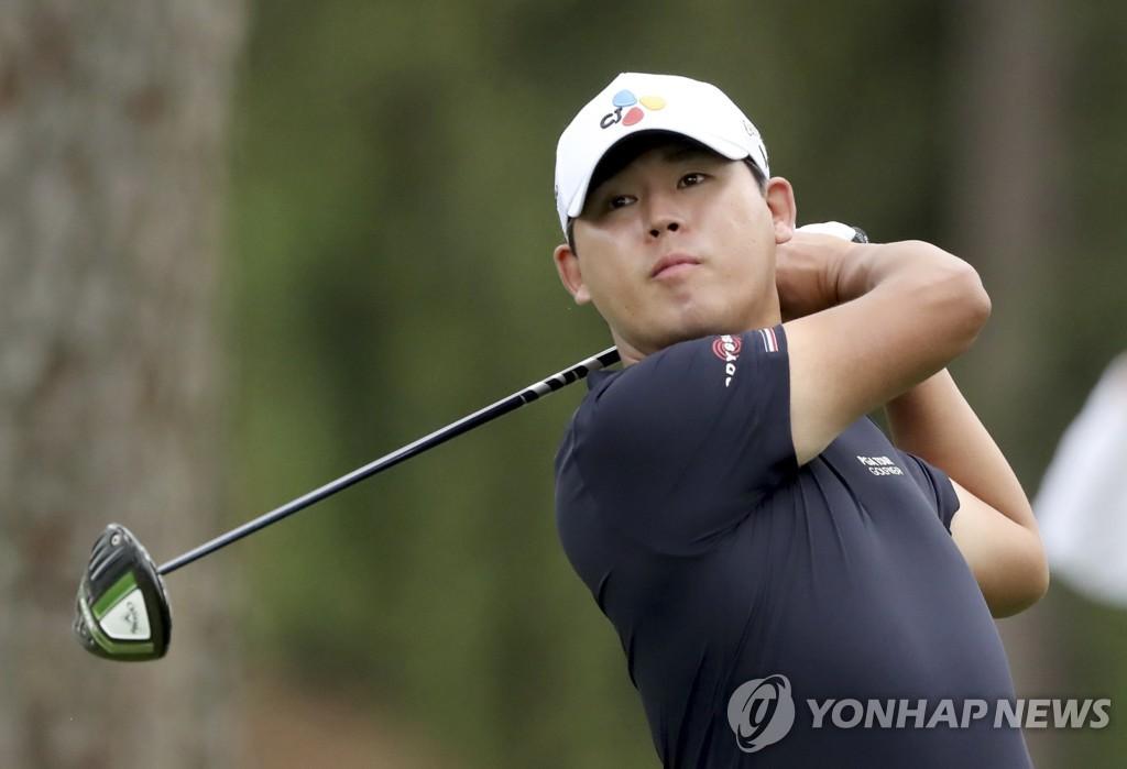 김시우, 마스터스 2라운드 공동 6위…선두와 3타 차(종합)