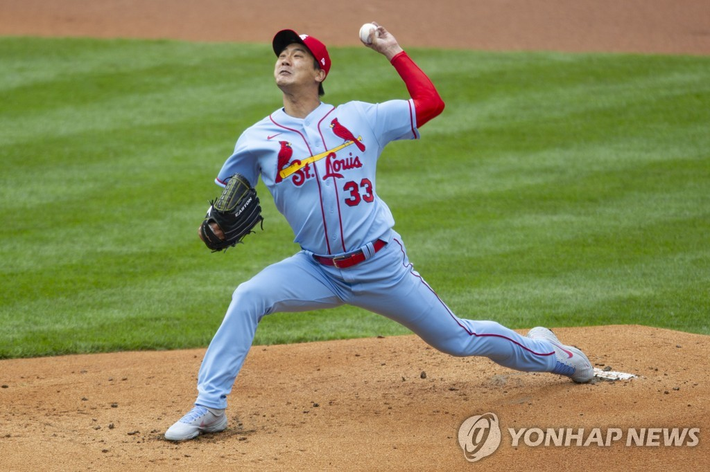 김광현, 24일 신시내티 상대로 시즌 두 번째 선발 등판